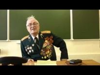 Встреча учащихся школы № 1208 ЮВАО г.Москвы с ветераном ВОВ А.Х.Шехмамедьевым